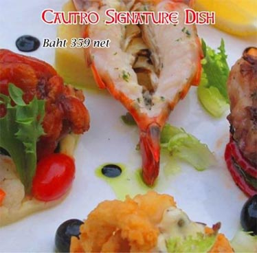 359 Baht Cautro Signature Dish at Dicey Reilly's