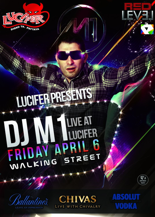 DJ M1 Live at Lucifer Disco, Walking Street