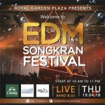 EDM Songkran Festival 2018 at Royal Garden Plaza Pattaya - Thursday 19th April