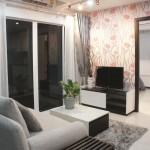 Living Area in Elegance 2 Condo - Pratumnak