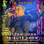 Elton Joht Tribute Show at Triangle Bar Pattaya - 14 September 2018