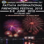 Pattaya International Fireworks Festival 2018 - 8th to 9th June