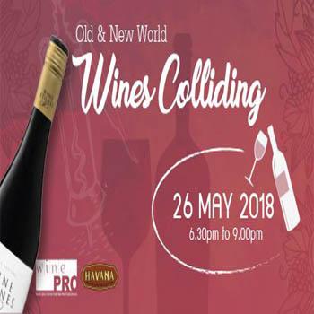 Old & New World Wines Colliding at Havana Bar & Terrazzo Restaurant – Saturday 26th May 2018