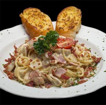 179 Baht Spaghetti Carbonara every Tuesday at I-rovers Hotel and Bar
