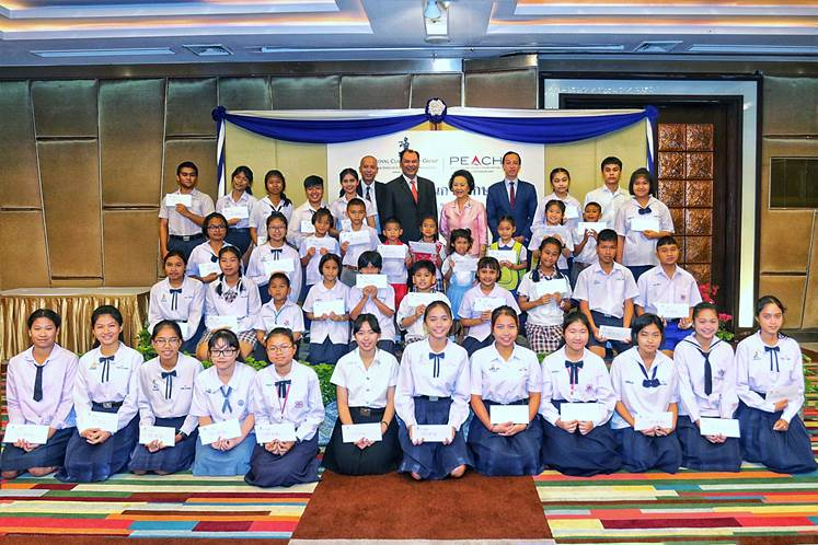 Royal Cliff Rewards The Children's Staff With Scholarships Worth Over THB 300,000
