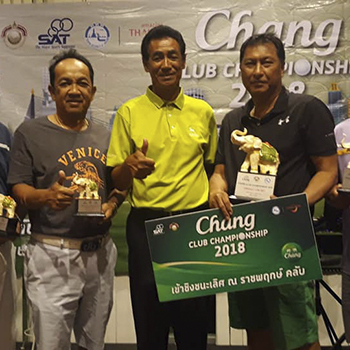 "Congratulations to the winner of ""The Khao Kheow Challenge & Chang Club Championship 2018″"
