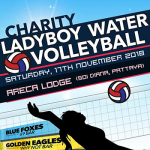 Ladyboy Water Volleyball at Areca Lodge - 17 November 2018