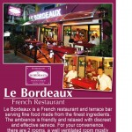 Le Bordeaux French restaurant Pattaya