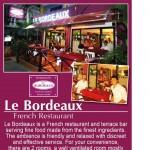 Le Bordeaux French restaurant Pattaya