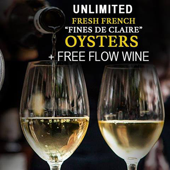 Unlimited Oysters & Free Flow Wine at Livv finest food & drinks – Restaurant Pattaya – 29 July 2018