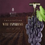 Australian Wine Experience at MYTT Beach Hotel - Thursday 26th July 2018