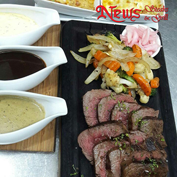 Buy 10 Daily set menu Specials for 259 baht and receive 1 free at News Steaks & Grill Pattaya