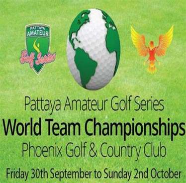 PAGS World Team Chamionship at Phoenix Golf & Country Club Pattaya – 30th September to 2nd October 2016