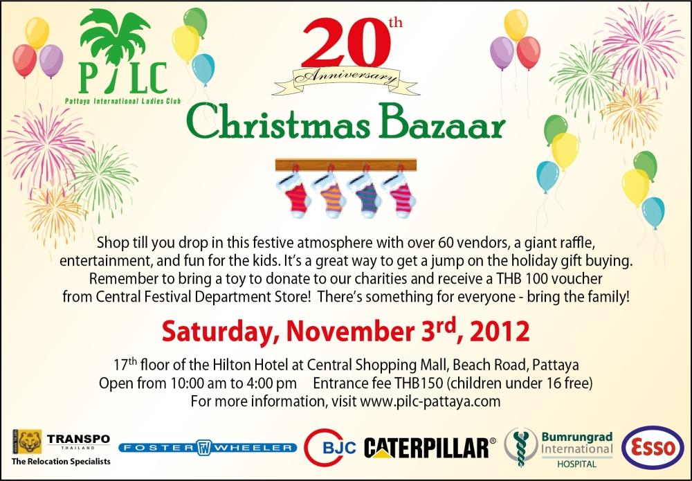 Pattaya International Ladies Club - 20th Anniversary Christmas Party