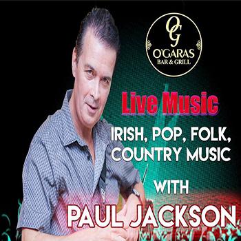 Live Music with Paul Jackson at O'Garas Bar Pattaya – Wednesdays