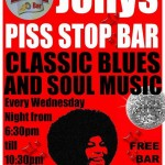Every Wednesday Classic Blues and Soul Music at Jolly's Piss Stop Bar