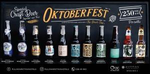 Menu Beer Oktoberfest