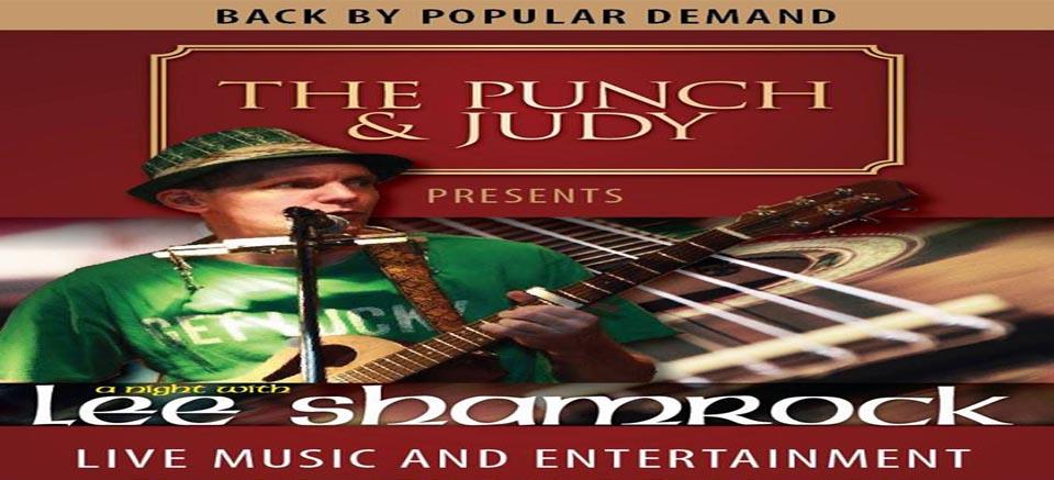 Inspire Pattaya -- Lee Shamrock at The Punch & Judy ...