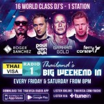 16 World Class DJs on Thaivisa Radio 1