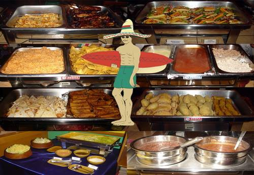 all you can eat american mexican buffet at tequila reef pattaya rh inspirepattaya com all you can eat mexican buffet in nashville all you can eat mexican buffet nc