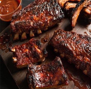 Tuesday's Special 295 Baht 1/2 Rack of BBQ Pork Ribs at Smokin' Joe's BBQ