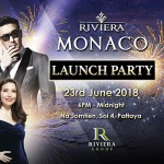 Riviera Monaco Launch Party - 23 June 2018