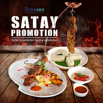 Satay Promotion at Breezeo by Royal Cliff Hotels Pattaya – February 2018
