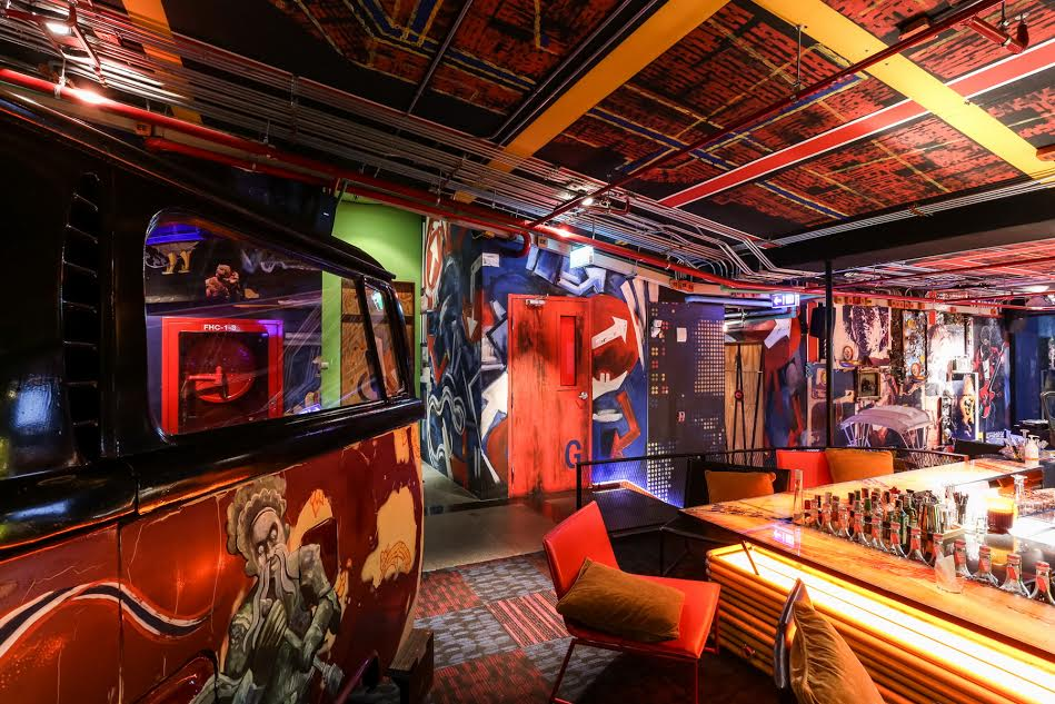 Inspire pattaya after work addiction of work o clock for Design hotel pattaya