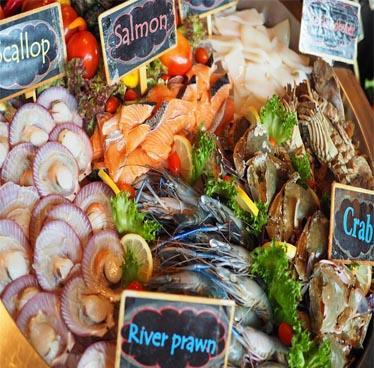 seafood buffet pattaya