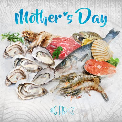 Inspire pattaya a date with mom at big fish restaurant for Big fish seafood bistro