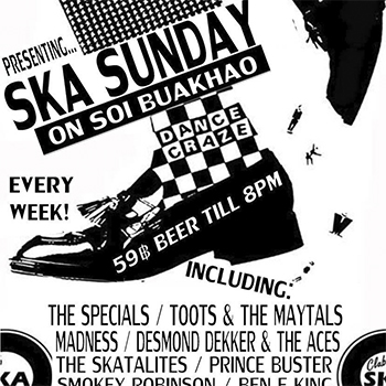 SKA SUNDAY…. On Buakhao at Trench Town Rasta Bar – 24 June 2018
