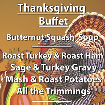 Thanksgiving Buffet at Smokin' Joe's BBQ Pattaya – 22 November 2018