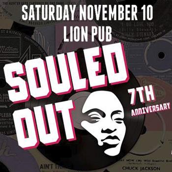 Souled Out 7th Anniversary at The Lion Pub Pattaya – 10 November 2018