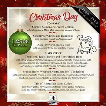 Christmas Day at The Sportsman Pub