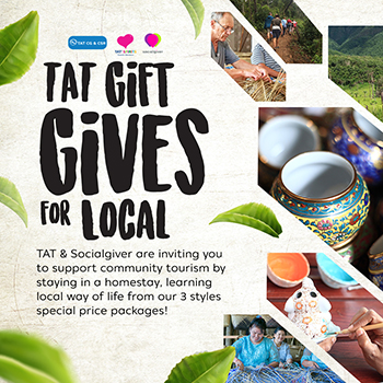 TAT teams up with Socialgiver to offer community travel packages that benefit the planet