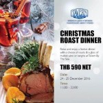 Christmas Roast Dinner at Tavern By The Sea - 24th & 25th December 2016