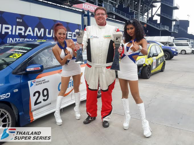 TR Motorsport Powered By Contix Claim Podium Places at TSS in Buriram