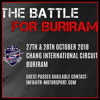 The Battle for Buriram at Chang International Circuit – 27-28 October 2018