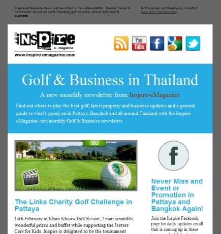 Travel & Commerce: Inspire International Newsletter