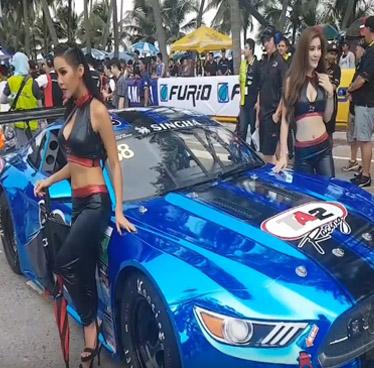 Annual Bangsaen Speed Festival in Thailand