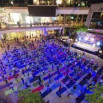 World Beach Yoga 2018 at Central Festival Pattaya Beach - Thursday 21st June